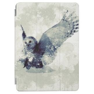 Protection iPad Pro Hibou merveilleux dans l'aquarelle