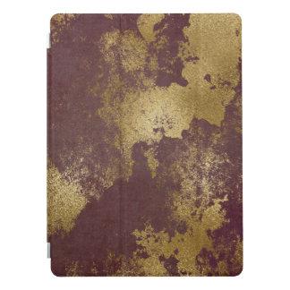 Protection iPad Pro Le rouge de Bourgogne a affligé la caisse