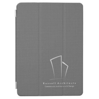 Protection iPad Pro Logo d'immobiliers de MMinimalistic (Pindots gris)
