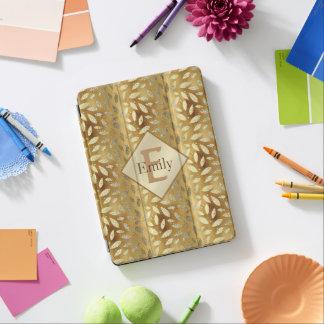 Protection iPad Pro L'or élégant et brillant laisse à iPad la pro