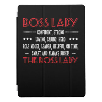 Protection iPad Pro Madame Confident Smart Always Right de patron