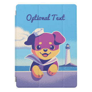Protection iPad Pro Marin de roussette de chiot de rottweiler