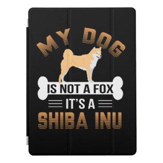 Protection iPad Pro Mon chien n'est pas un Fox que c'est un Shiba Inu