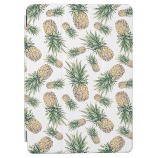 Protection iPad Pro Motif d'ananas d'aquarelle