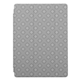 Protection iPad Pro Motif gris classique de carrés