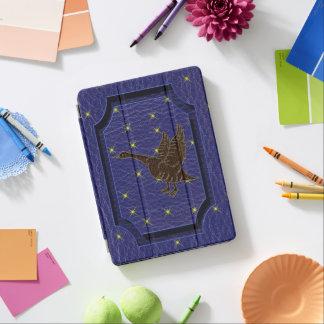 Protection iPad Pro Oie simili cuir de zodiaque de Natif américain