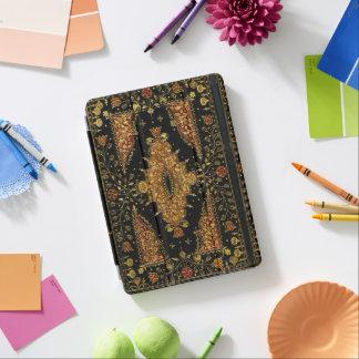 Protection iPad Pro Or noir de Falln floral
