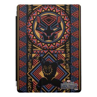 Protection iPad Pro Panneau de panthère noire de la panthère noire |