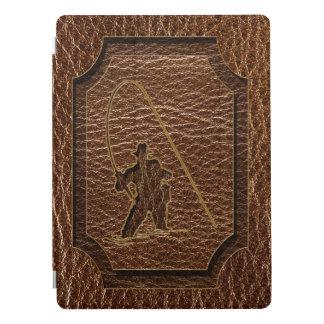 Protection iPad Pro Pêcheur simili cuir