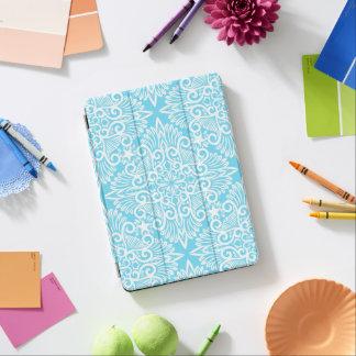 Protection iPad Pro Racine rêveuse bleue lumineuse