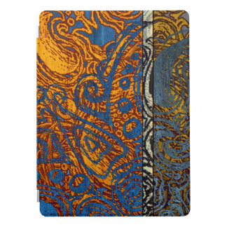 Protection iPad Pro Remous 12,9 de blue-jean de trois tons ""