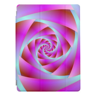 Protection iPad Pro Une torsion de bleu et de rose