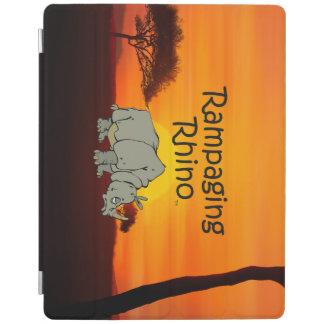 Protection iPad Rhinocéros de saccage de PIÈCE EN T
