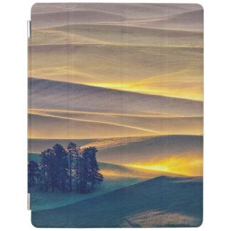 Protection iPad Rolling Hills de blé au lever de soleil | WA