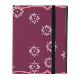 Protection iPad Rose et fleuri