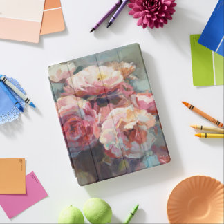 Protection iPad Roses de rose sauvage