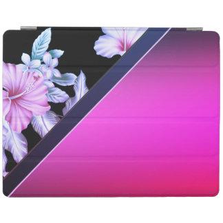 Protection iPad Sophistiqué élégant élégant, fleurs