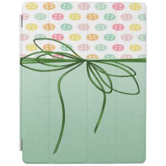 Protection iPad Sophistiqué Girly, boutons, arc
