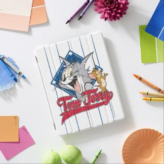 Protection iPad Tom et Jerry   Tom et Jerry sur le diamant de