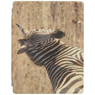 Protection iPad Un beau zèbre sauvage sur la savane