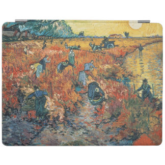 Protection iPad Vignobles de rouge de Vincent van Gogh | chez