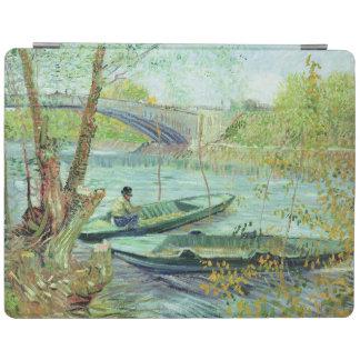 Protection iPad Vincent van Gogh | pêchant au printemps