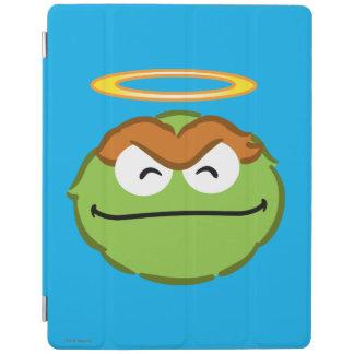 Protection iPad Visage de sourire d'oscar avec le halo