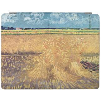 Protection iPad Wheatfield de Vincent van Gogh | avec des gerbes,