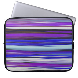 Protection Pour Ordinateur Portable #2 abstrait : Tache floue ultra-violette