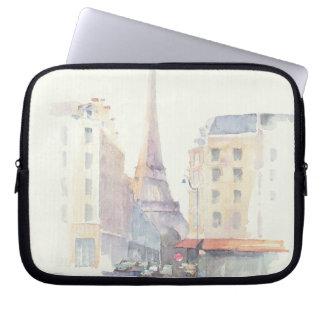 Protection Pour Ordinateur Portable Aquarelle de Tour Eiffel | Paris