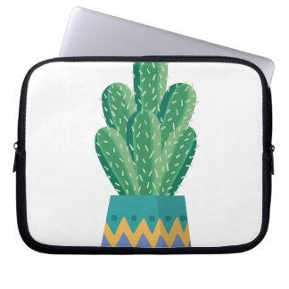 Protection Pour Ordinateur Portable art de conception de fleur de plante de cactus