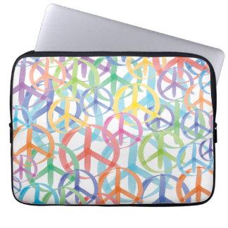Protection Pour Ordinateur Portable Art de signe de paix