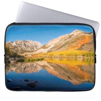 Protection Pour Ordinateur Portable Automne au lac du nord, la Californie
