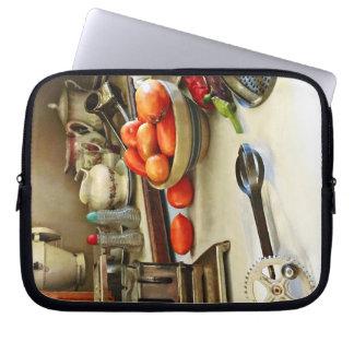 Protection Pour Ordinateur Portable Bol de tomates sur le compteur