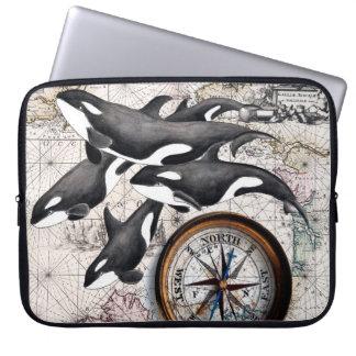 Protection Pour Ordinateur Portable Boussole nautique d'orque