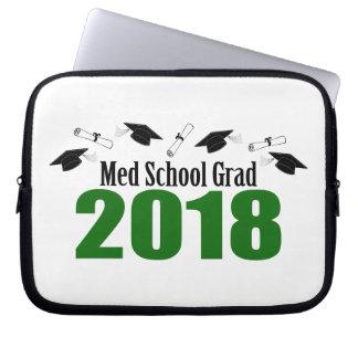 Protection Pour Ordinateur Portable Casquettes du diplômé 2018 d'école de Med et