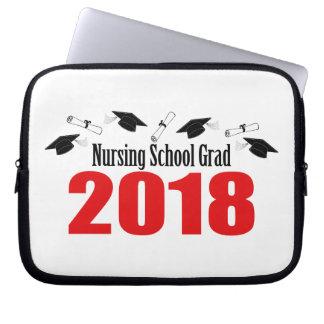 Protection Pour Ordinateur Portable Casquettes et diplômes du diplômé 2018 d'école