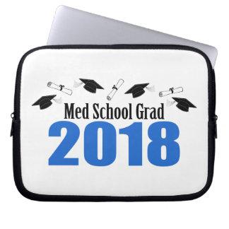 Protection Pour Ordinateur Portable Casquettes et diplômes du diplômé 2018 d'école de
