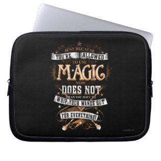 Protection Pour Ordinateur Portable Charme | de Harry Potter juste puisqu'on vous