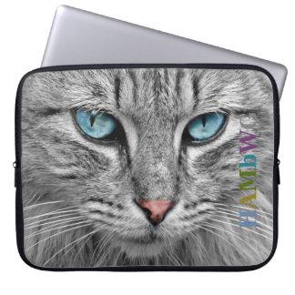 Protection Pour Ordinateur Portable Chat gris de HAMbWG - douilles d'ordinateur