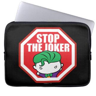 """Protection Pour Ordinateur Portable Chibi """"arrêt signe du joker"""""""