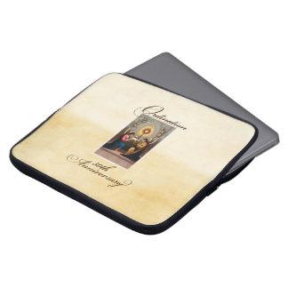 Protection Pour Ordinateur Portable cinquantième Anges d'anniversaire de
