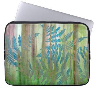 Protection Pour Ordinateur Portable Collage des fougères et de la forêt | Seabeck, WA