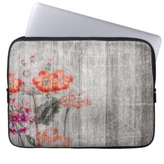 Protection Pour Ordinateur Portable Conception florale colorée