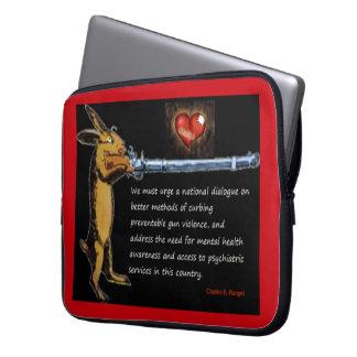 Protection Pour Ordinateur Portable Contrôle des armes - Charles B. Rangel Quote