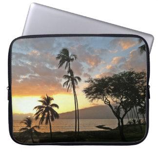 Protection Pour Ordinateur Portable Coucher du soleil au-dessus de baie de Maalaea,