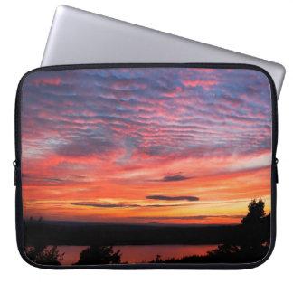 Protection Pour Ordinateur Portable Coucher du soleil au-dessus de parc national