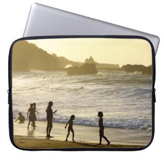 Protection Pour Ordinateur Portable Coucher du soleil sur la douille française