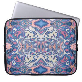 Protection Pour Ordinateur Portable Couches chaotiques colorées