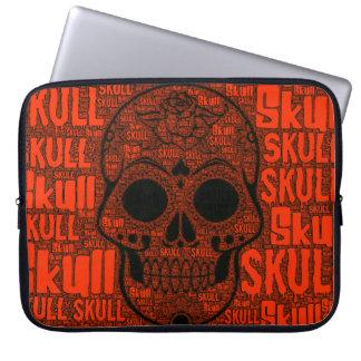 Protection Pour Ordinateur Portable Crâne B de WordArt